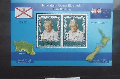 Jersey 2006 Queens 80th Birthday m/s MNH