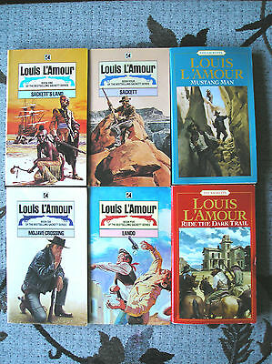 - Louis L`amour : Sacketts Collection : Uk & Usa 1980/2000 Various Paperbacks