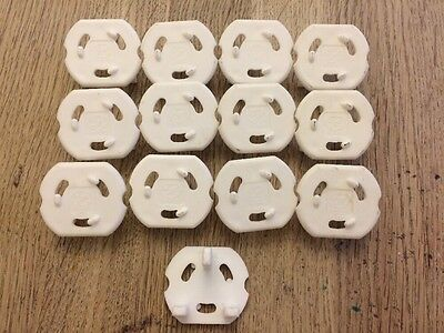 Childproof Safety Plugs For Sockets (pk of 13)