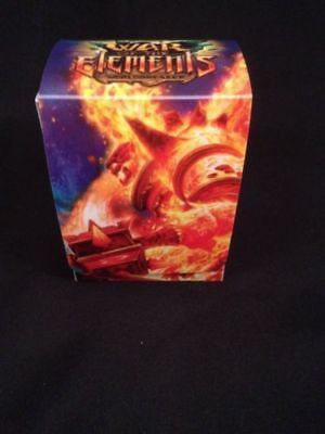 WOW World of Warcraft Plastic Deck Box +  Divider - War of the Elements (G24