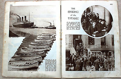 1912 PHOTO - THE TITANIC and WHITE STAR OFFICES from a 1925 publication