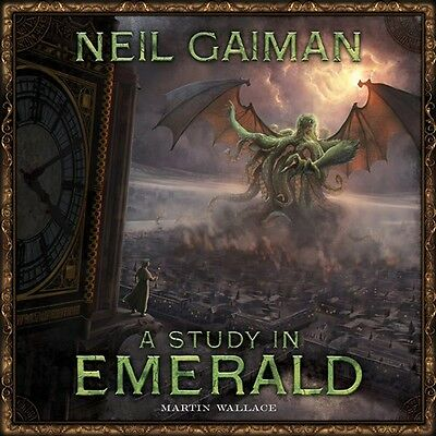 A Study In Emerald Board Game: 2nd Edition