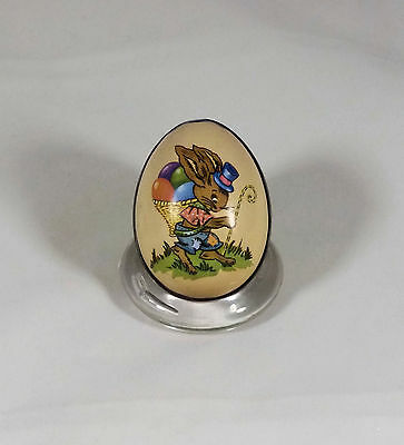 Antique Swiss Metal Easter Candy Container Ian Logan Design