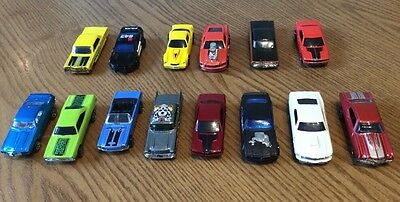 15 x AMERICAN MUSCLE TOY CARS - job lot assorted -  Mostly Hot Wheels.
