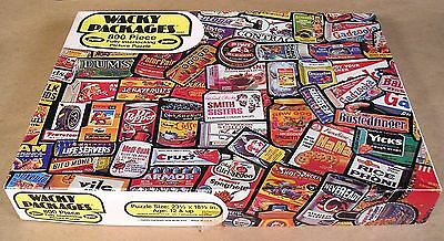 1973 Topps Wacky Packages JAYMAR JIGSAW PUZZLE 799 of 800 pcs #1537 w/box nice