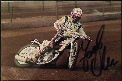Jacob Olsen (Coventry Speedway Rider) Signed Photograph