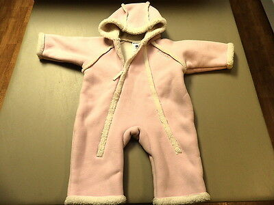 Baby Girl Columbia Pink Snowsuit size 6 months