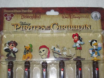 Disney World/Disneyland Pirates of the Caribbean Collector Pen Set ~BRAND NEW!