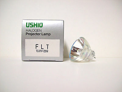 FLT Projector Projection Lamp Bulb 13.8V 25W USHIO Brand