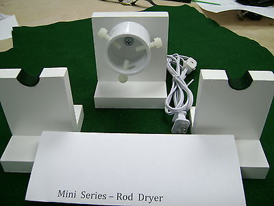 Mini Series --- 10-12  RPM-ROD DRYING-DRYER  MOTOR  KIT --  with 2 rod stands