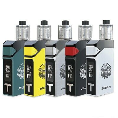 Authentic IJOY SOLO V2 200W BOX MOD KIT- UK SELLER- FAST DISPATCH