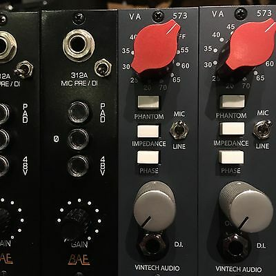 Vintech 573 Neve-Style Preamp For Api 500 Series