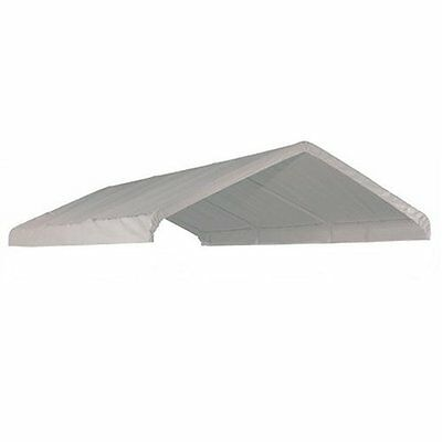 10 x 20' FT Top Roof Tarp Replacement CANOPY Cover SHADE