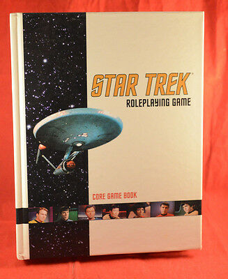Star Trek Role-Playing Game: A Core Game Book : Hardback (Sticker)