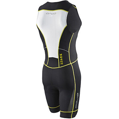 Orca 226 Kompress Men's Triathlon Race Suit, Medium, Black/Yellow, RRP £109