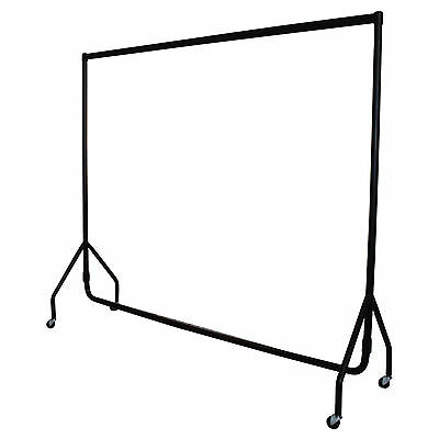 5⭐ HEAVY DUTY 6ft GARMENT RAIL CLOTHES HOME HANGING RACK MARKET DISPLAY