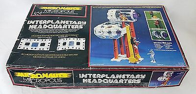 Vtg 1978 Micronauts Interplanetary Headquarters & Figure Mego Space Building Set