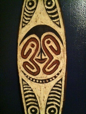 gope board, oceanic tribal art, papua new guinea
