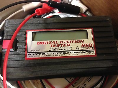 MSD 8998 Ignition Tester Single Channel, Sync P/U.