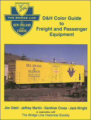 DELAWARE & HUDSON Color Guide to Freight & Passenger Equipment: 300 color photos