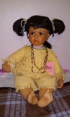 """Paradise Galleries Native American 22"""" baby doll"""