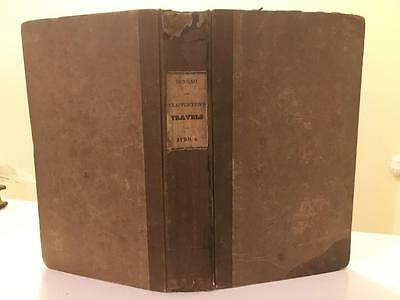 Denham Narrative of Travels to Africa 1826 First American Map