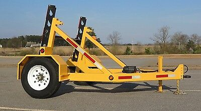 2017 Hydraulic Utility/Cable Reel Trailer