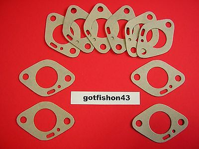 10 New Vintage Kart Mini-Bike Tecumseh Lauson Power Products Carb Base Gaskets