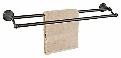"""Dynasty Hardware 9316-ORB Bay Hill 24"""" Double Towel Bar Oil Rubbed Bronze"""