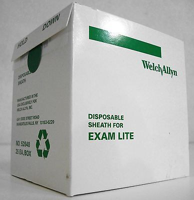 Welch Allyn 52640 EXAM LIGHT DISPOSABLE SHEATH for Lite Pipe *FREE SHIPPING*