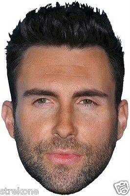 ADAM LEVINE TV's THE VOICE Coach /Judge Large Head WindoCling Stick-On Decal NEW
