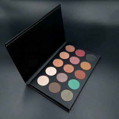 Cosmetics Shimmer Eyeshadow Natural 15 Colors Earth color Waterproof