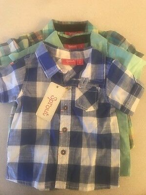 Sprout Infant Boys Size 0 3 X Short Sleeved Shirts