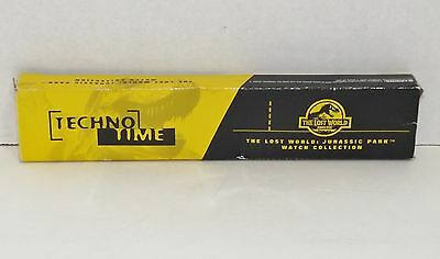 "1997 ""The Lost World"" Jurassic Park Techno Time Burger King Watch {4376}"