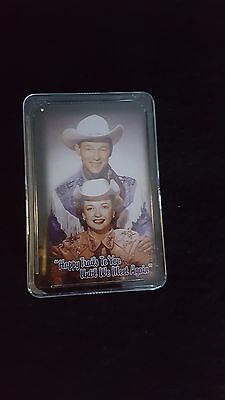 """Roy Rogers & Dale Evans """"happy Trails To You Until We Meet Again"""" Playing Cards"""