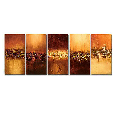 Original Hand Paint Oil Painting on Canvas Wall Art Home Decor Abstract Framed