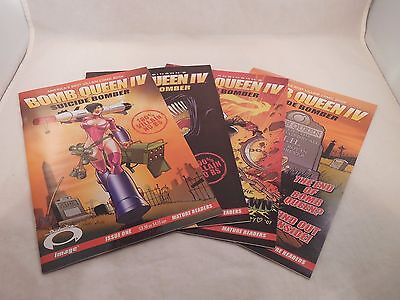 Bomb Queen IV Suicide Bomber #1-4 Complete Run Set (Aug 2007, Image)