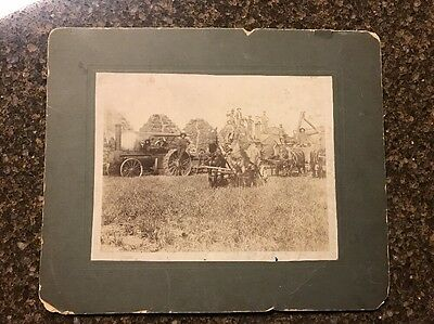 Rumely Steam Tractor Threshing Cabinet Photo Picture LaPorte, IN