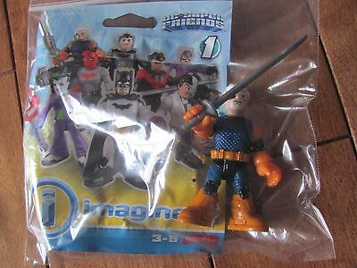 Fisher Price Imaginext SLADE DEATHSTROKE Series 1 DC Super Friends NEW