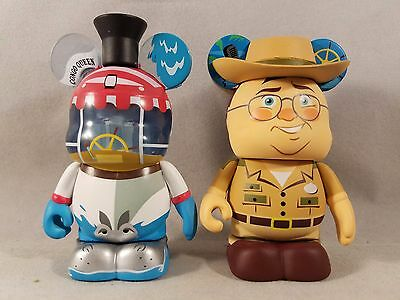 Disney Vinylmation Eachez Attractions Series Jungle Cruise Skipper Boat Variant