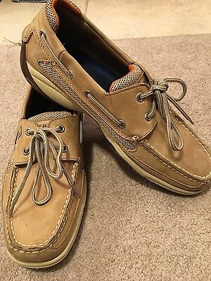 Mens Leather Sperry Top Sider Boat Shoes. Size 9M. Great Condition!!!