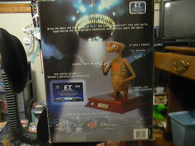 """E.t. The Extra Terrestrial 12"""" Figure Authentic 2001 Never Out Of Box"""