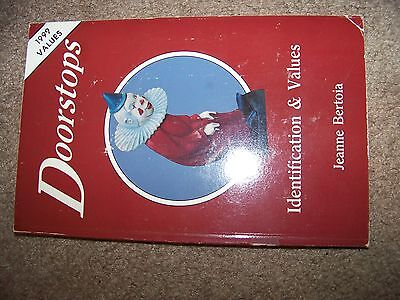 Identification/price Guide Book On Door Stop Collectibles
