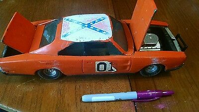 "RARE 1981 GENERAL LEE JUMP CAR From Dukes Of Hazzard/ ERTL 1:16 /13"" Toy Vehicle"