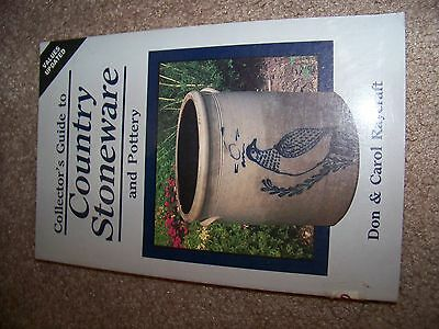 Identification/price Guide Book On Country Stoneware Collectibles