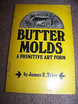 Identification/price Guide Book On Butter Molds Collectibles