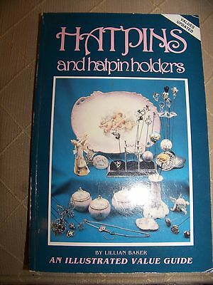 Identification/price Guide Book On Hatpins And Hatpin Holderscollectibles