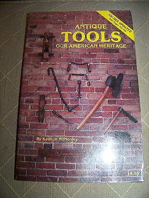 Identification/price Guide Book On Antique Tools Collectibles
