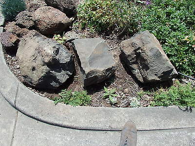 LARGE VOLCANIC / HONEY COMB  GARDEN ROCKS -   Pick Up WANDIN