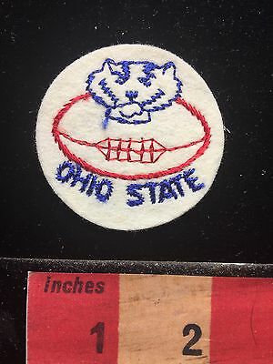 Ohio State Football Jacket Patch ~ Borderless 67U8